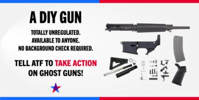 Brady Applauds Proposed DOJ Rule Regulating Ghost Guns