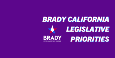 Brady California Announces Sponsorship of Four State Bills for 2020