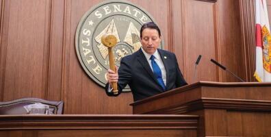 Florida Senate President Attacked for work on Common-Sense Gun Reform