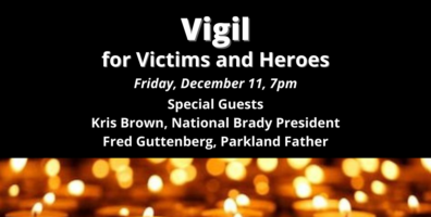 Join Us for the 8TH Annual National Vigil for All Victims of Gun Violence