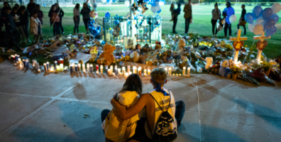 Parents of California high school shooting victims and the state sue ATF over 'ghost guns'