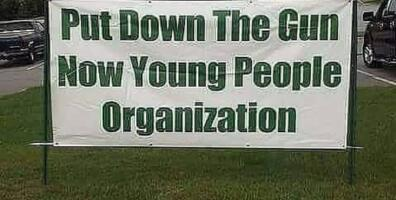 Put Down the Guns Now Young People Organization held conference on gun violence